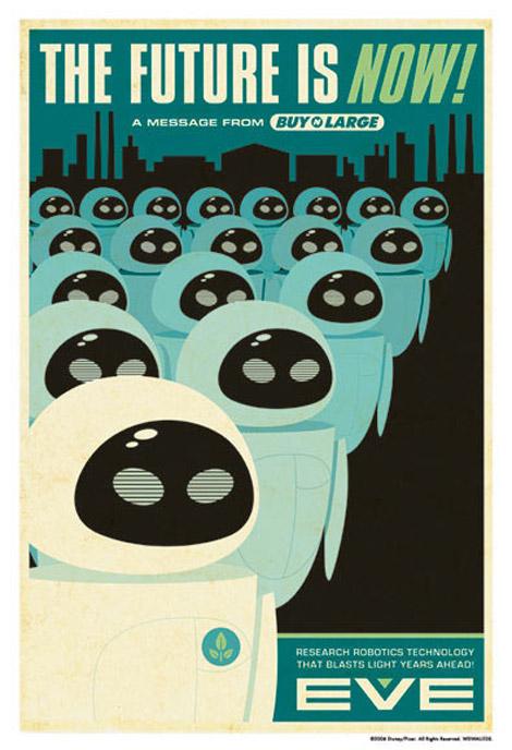 Eric Tan's Wall•e posters