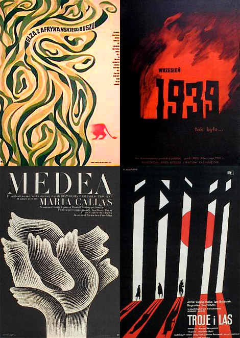 Polish movie posters