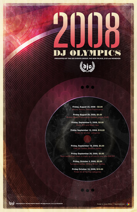 DJ Olympics by James White