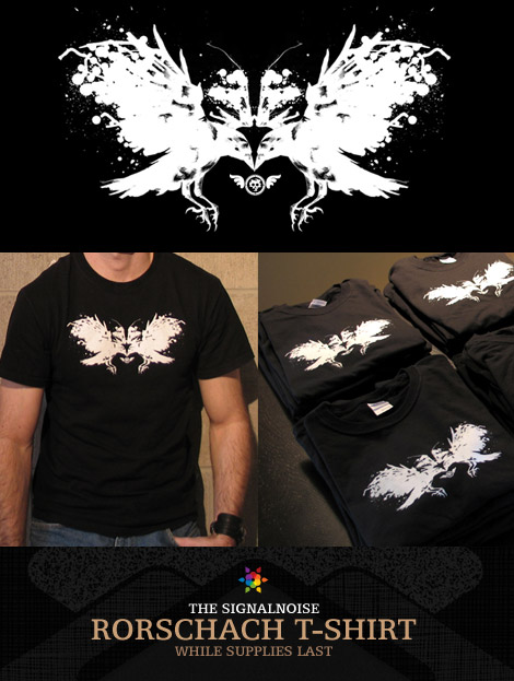 Signalnoise Rorschach t-shirt