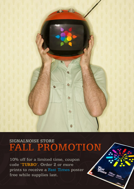 Signalnoise Store: Fall promo