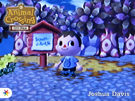 Joshua Davis in Animal Crossing: City Folk