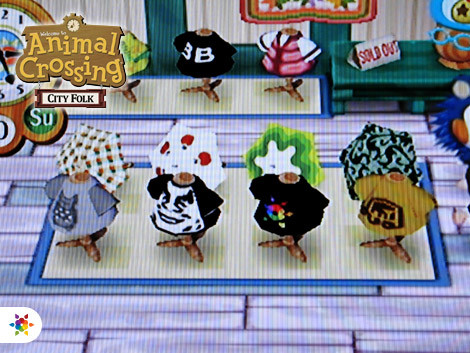 Signalnoise in Animal Crossing: City Folk