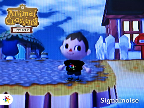 Signalnoise in Animal Crossing: City Folk