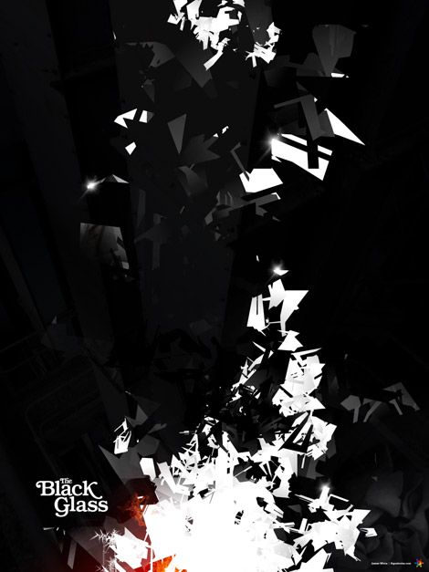 The Black Glass by James White
