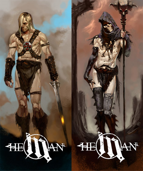 He-man designs by Marko Djurdjevic