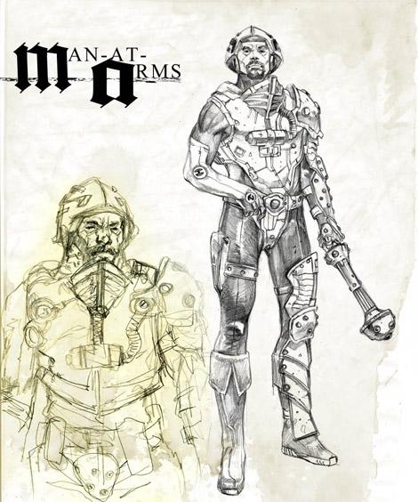 He-man designs by Marko Djurdjevic