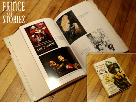 James in Neil Gaiman's 'Prince of Stories'