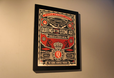 Queens of the Stone Age by Obey Giant