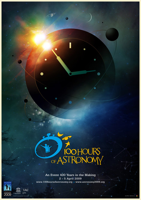 100 Hours of Astronomy by James White