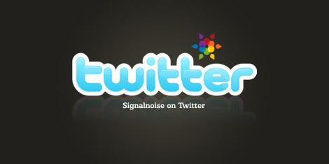 Signalnoise on Twitter