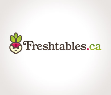 Freshtables.ca logo by James White