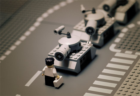 Lego photos by Mike Stimpson