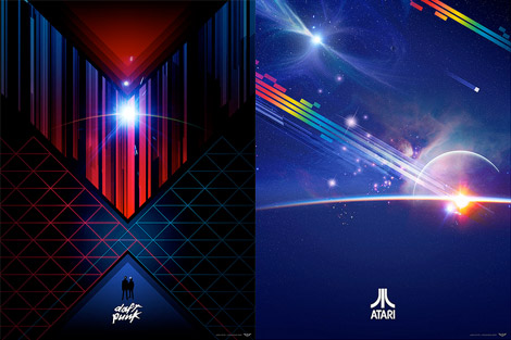 Daft Punk and Atari by James White