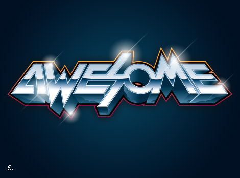 Awesome type by James White