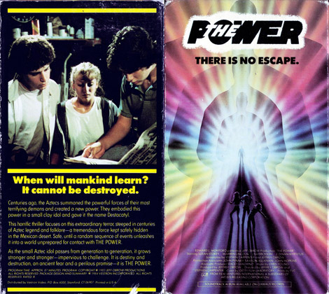 The Power VHS cover