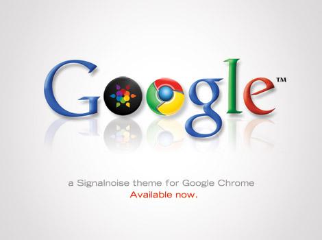 Signalnoise theme for Google Chrome by James White