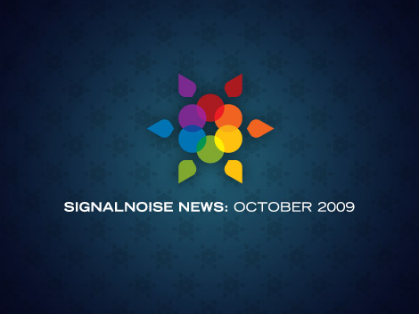 Signalnoise News: October 2009