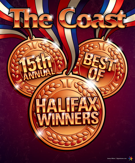 Best of Halifax Coast cover