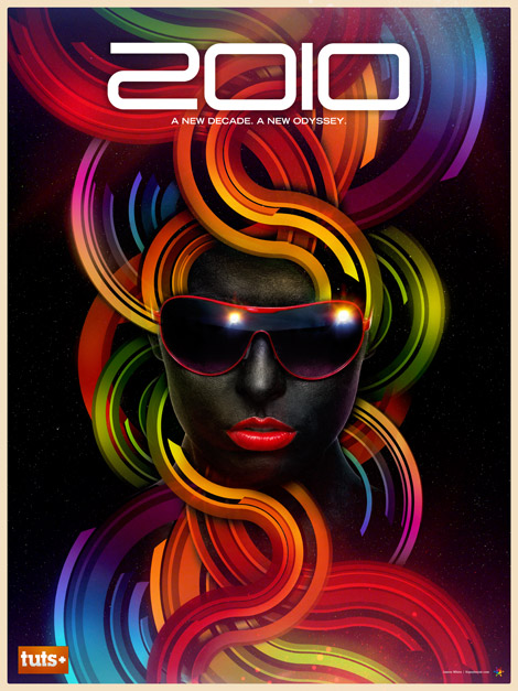Tuts+ 2010 poster by James White