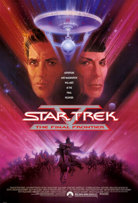 Star Trek 5: The Final Frontier poster