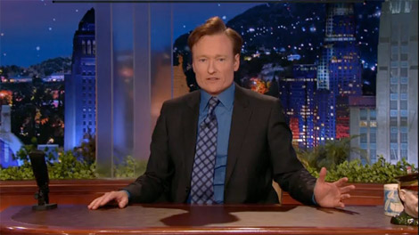 Farewell from Conan O'Brien