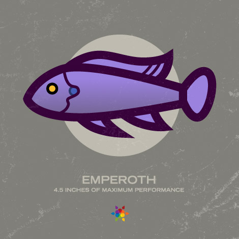 Emperoth, the Signalnoise mascot