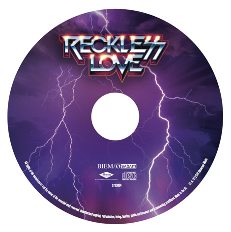 Reckless Love label