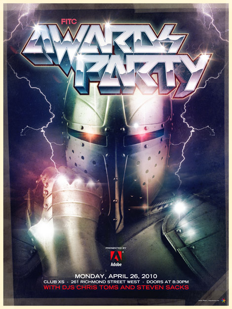 FITC Awards Party poster: James White