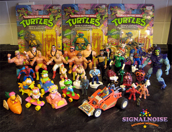 Most Popular Toys From The 1980s : Signalnoise saturday morning my old toys