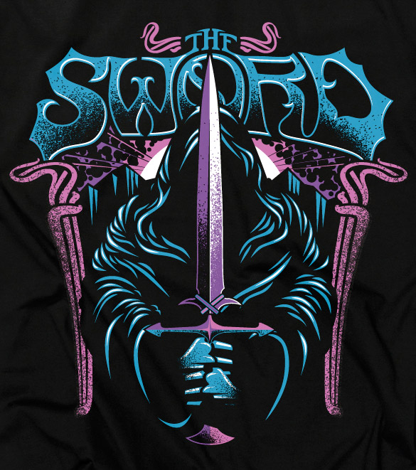 T-shirt for The Sword – Signalnoise