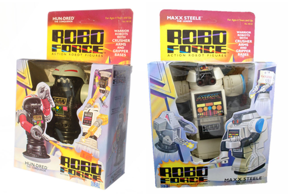 Robo Force Packaging