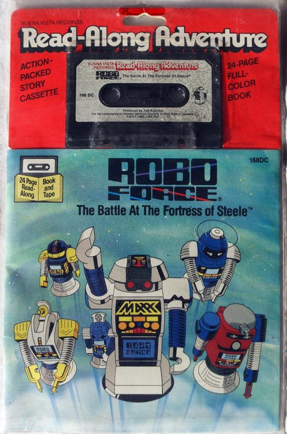 Robo Force Read-Along Book