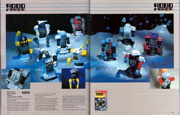 Ideal Robo Force 1984 Toy Fair Catalog