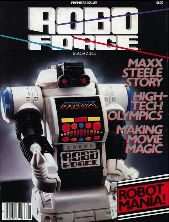 Robo Force Magazine