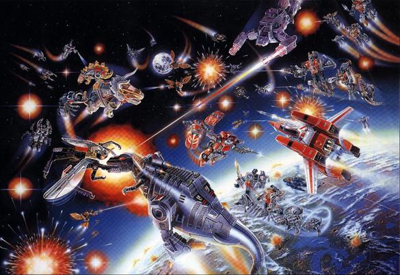 Transformers: 1985 Box Battle