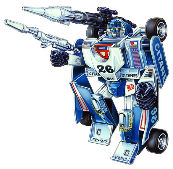 Transformer - Autobot: Mirage