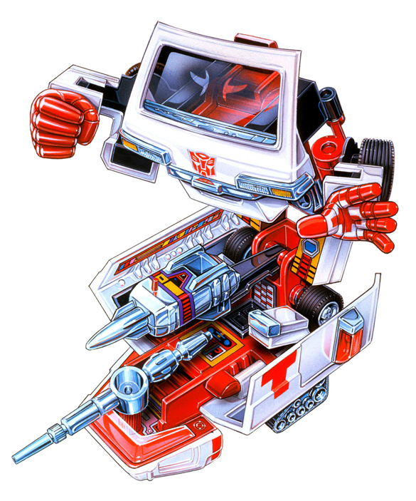 Transformer - Autobot: Ratchet