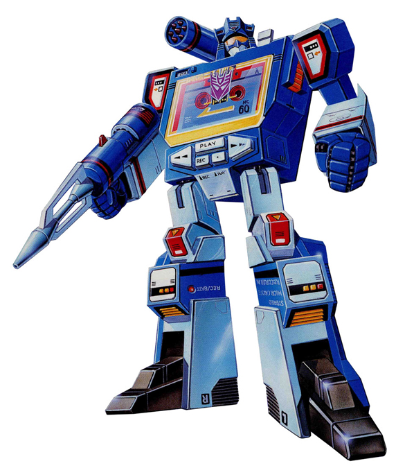 Transformers - Decepticon: Soundwave
