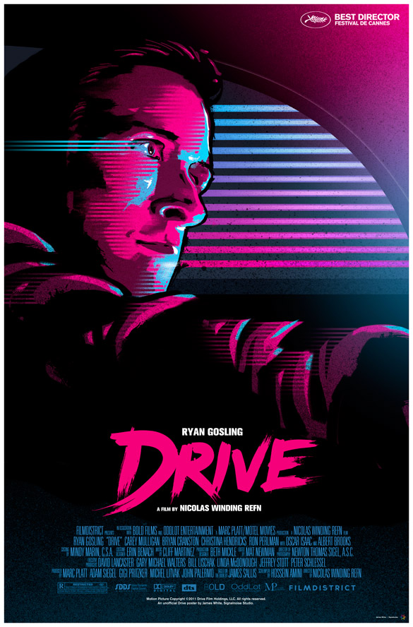 last week to watch DRIVE  Drive