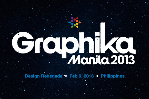 James White at Graphika Manila