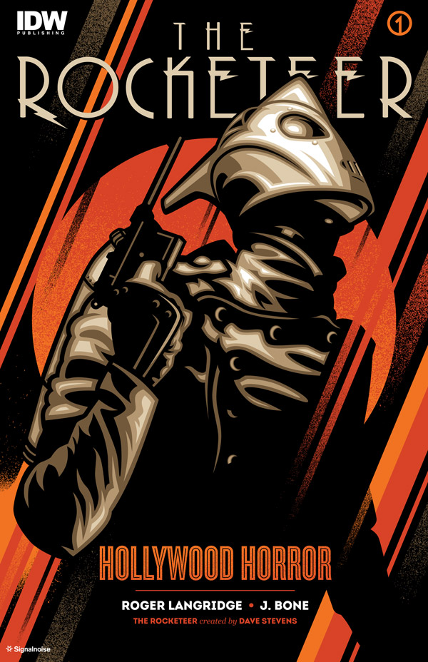 Rocketeer cover by James White