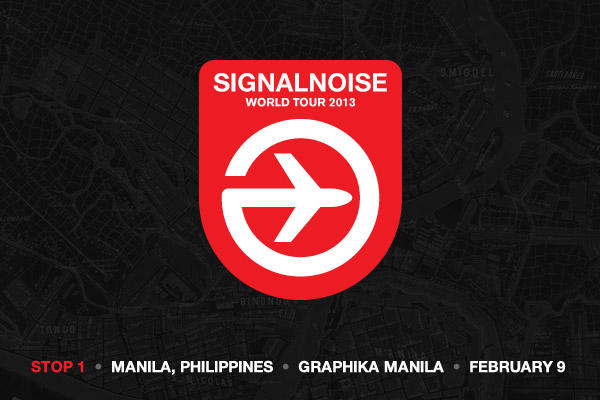 Signalnoise World Tour 2013