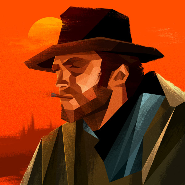 Man with No Name illustration