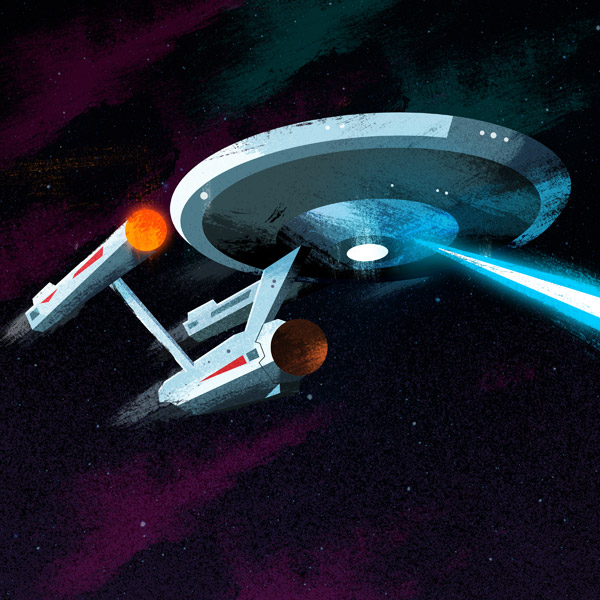 Enterprise illustration