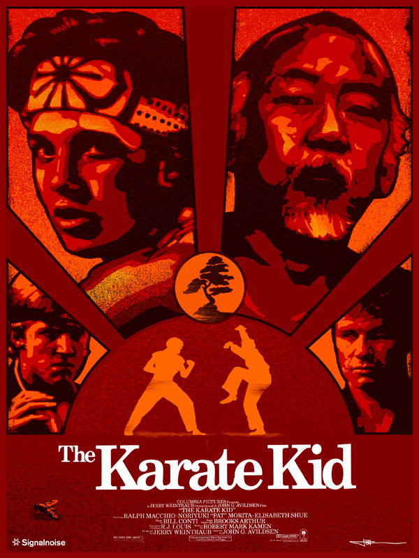 Karate Kid poster by James White