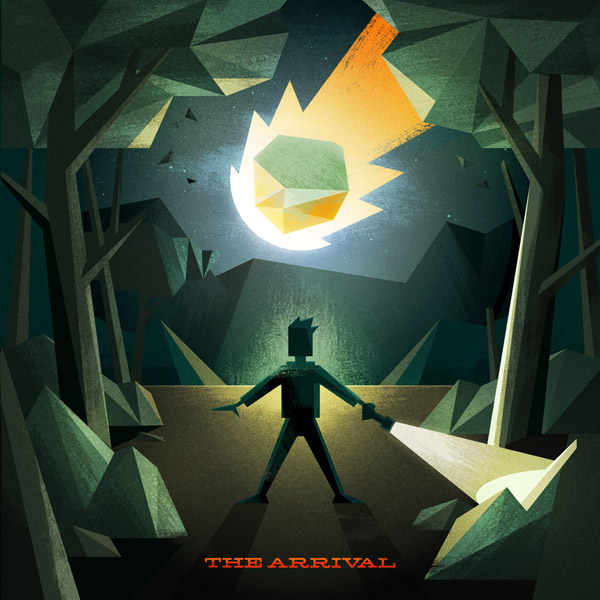 The Arrival illustration