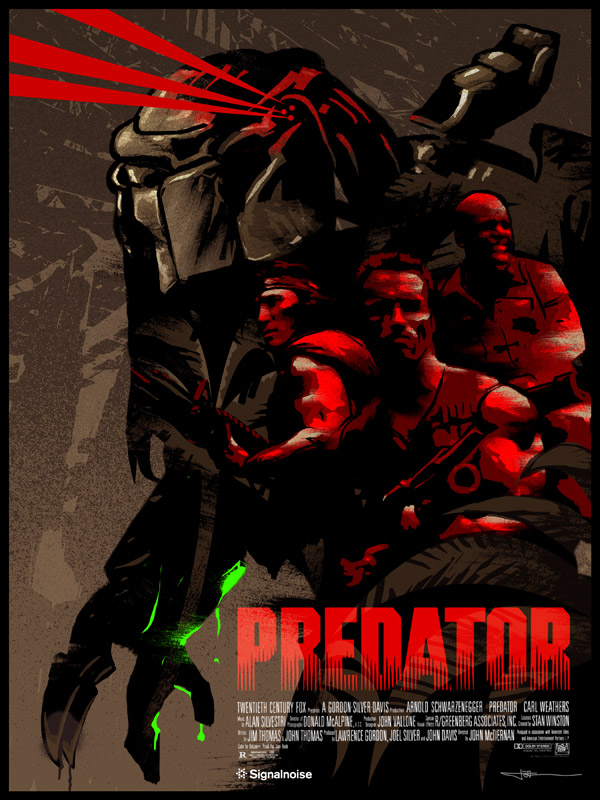 Predator poster by James White