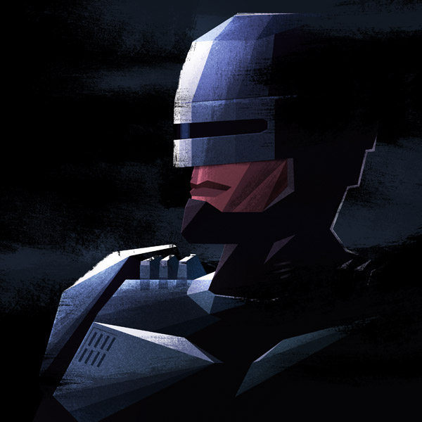 RoboCop illustration by James White
