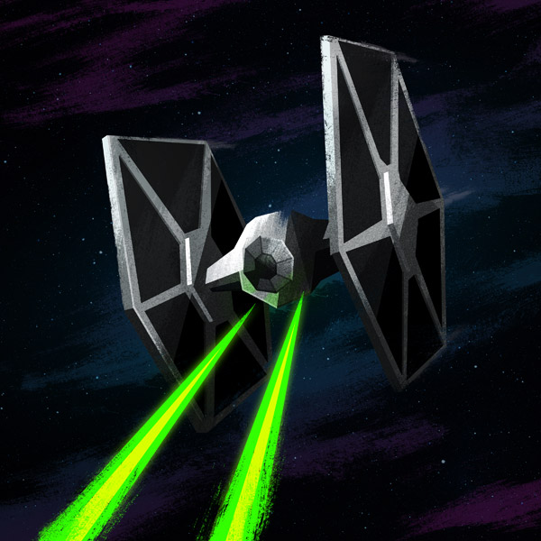 TIE Fighter by James White